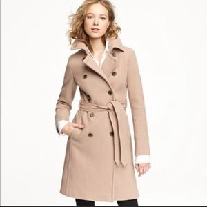 Boulevard Trench Coat Tan - Excellent Condition
